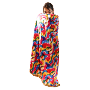 Urban Diction Kids Size Colorful Magical Magicians High Collar Cape