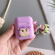 Load image into Gallery viewer, Cartoon Toy Story Woody Buzz Lightyear earphone Case For Apple airpods Wireless bluetooth headset Cover New air pod 2 acessorios