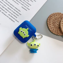 Load image into Gallery viewer, Cute Cartoon Toy Story Hamm Piggy Bank Rex The Dinosaur Red Heart Headphone Cases For Apple Airpods 1 2 Silicone earphone Cover
