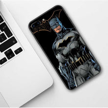Load image into Gallery viewer, Marvel Venom Iron Man Spider-Man Batman Deadpool Soft TPU Cover Phone Case for iPhone X 6 6S Plus 7 8 Plus XR XS MAX 11 Pro Max