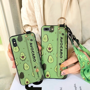 Wristband Kickstand Cover For Huawei Nova 3 3i 4 Honor 8X 10 V20 Lanyard Phone Case For Huawei Mate 20 P20 P30 Pro Lite TPU Case