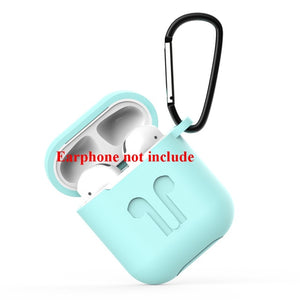 Soft Silicone Case For Airpods For Air Pods Shockproof Earphone Protective Cover Waterproof for iphone 7 8 Headset Accessories
