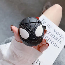 Load image into Gallery viewer, Earphone Case for Airpods 2 Case Silicone Chocolate Cute Cartoon Cover for Apple Air Pods Headphone Case for Earpods Ring Strap