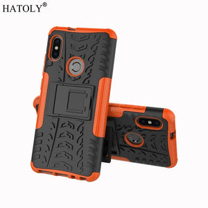 For Xiaomi Redmi Note 7 Case Shockproof Armor Hard Rubber Silicon Phone Case for Xiaomi Redmi 7A Cover for Xiaomi Redmi Note 5 8