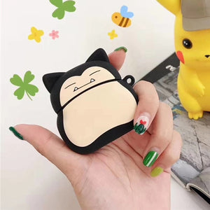 Funny Cartoon For Apple Airpods Case Protective Cover Cute Bluetooth Earphone Case Fashion Soft Silicone Cases Headset Bag Capa