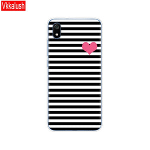 Silicon Shell Bag Case For Xiaomi Redmi 7a Cases Full Protection Soft Tpu Back Cover On Redmi 7A Bumper Phone Coque