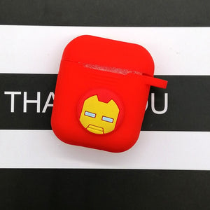 Hot Cartoon Wireless Earphone Case For Apple AirPods Silicone Charging Headphones Cases For Airpods 2 Protective Cover