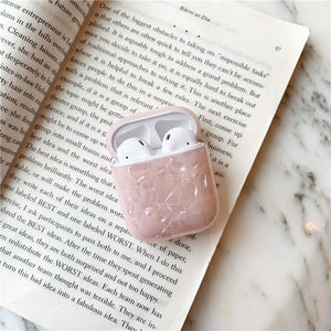 Abstract Marble Pattern For Apple Airpods Case Slicone Earphone Cover For Air pods Luxury Conch Shell Headphone Cases For Airpod