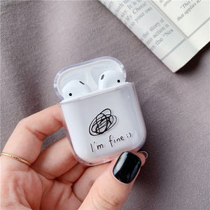 Cute Case For Apple AirPods Case Cartoon Bluetooth Earphone Protective Hard Cover For Air pods headphones case box For airpod 2
