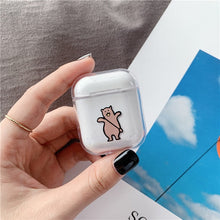Load image into Gallery viewer, Cute Case For Apple AirPods Case Cartoon Bluetooth Earphone Protective Hard Cover For Air pods headphones case box For airpod 2