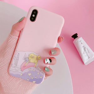 Sailor Moon Phone Case For Samsung A70 S8 A50 S9 note 10 9 8 S10 S7 edge j7 j5 a5 a8 a30 s6 s9 plus a6 s10e j6 Soft Back Cover