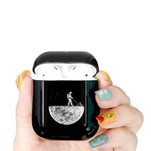Load image into Gallery viewer, Cute Case For Apple airpods Case Cartoon Space Planet Astroaunt Bluetooth Earphone Case For Airpods 12 Headphone Black Hard Case