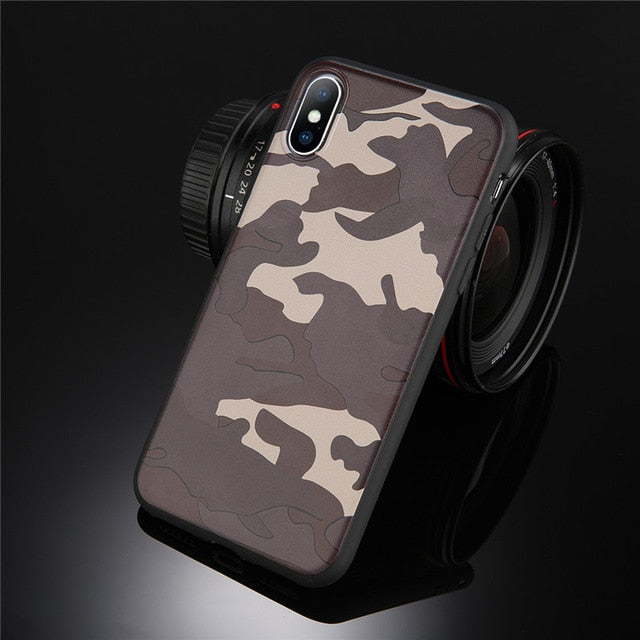 Lovebay Army Green Camouflage Case For iPhone X For iPhone 6 6S 7 8 Plus 11 Pro XR XS Max Soft TPU Silicon Phone Case Back Cover