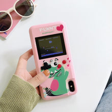 Load image into Gallery viewer, BY Full Color Display 36 Game phone Case For iPhone 11 Pro 6 7 8 Plus TPU Frame gameboy coque for iPhone X Xs Max Xr Funda Capa