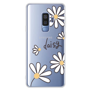 Soft Silicone Phone Case For Samsung Galaxy A50 A30 S10 Plus S10 S10e Cartoon TPU Printed Protective Fundas For Samsung A50 A30