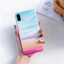 Load image into Gallery viewer, Luxury Marble Silicone Phone Case For iphone 11 Pro XS Max X XR 7 8 6 6S Plus Case Soft TPU Back Cover For iphone 8 7 Plus Funda