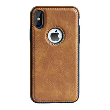 Load image into Gallery viewer, Slim PU Leather Case for iPhone 11 XS Max XR Ultra Thin Phone Cases Cover For iphone X 8 7 Plus 6 6s Case Coque Fundas Capa