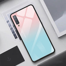 Load image into Gallery viewer, Luxury Tempered Glass Case For Samsung Galaxy S10 Plus S10e S9 S8 Note 8 9 10 Plus A7 2018 A70 Starry Sky Protective Back Cover