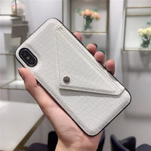Load image into Gallery viewer, Credit Card Phone Case Wallet Crossbody Long Chain For iPhone 11 pro XS Max 7 8 6s Plus X XR Snake skin texture Cover with Strap