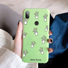 Load image into Gallery viewer, Silicon Phone Case For Xiaomi Redmi 7 7A 6A Note 5 6 7 Pro 8 Pro 9 Mi 9 SE 9T Pro t Mi 8 A2 Lite Mi A3 Mi9 Cover Soft Phone Case
