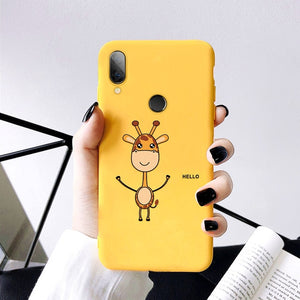 Silicon Phone Case For Xiaomi Redmi 7 7A 6A Note 5 6 7 Pro 8 Pro 9 Mi 9 SE 9T Pro t Mi 8 A2 Lite Mi A3 Mi9 Cover Soft Phone Case