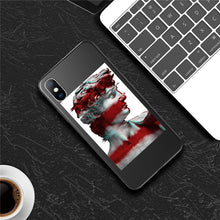 Load image into Gallery viewer, Moskado Funny Art Abstract Phone Case For iPhone 11 Pro X XR XS Max 7 8 6 6s Plus 5 5s SE 10 Silicone Statue Soft TPU Back Cover