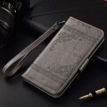 Load image into Gallery viewer, Flip wallet Case For Xiaomi Redmi Note 7 8 6 5A 5 Pro 4 3 Prime cover phone bag For Xiaomi Redmi 7 7 4 4X 4A 5A 5 Plus K20 case