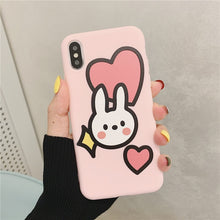 Load image into Gallery viewer, Soft Phone Case For iphone 11 pro max case 7 Case For Iphone 6 S 6s 7 8 Plus X Case Cover Xs Max Xr 8plus 7plus Coque Fundas