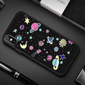 Animal Love Heart Soft TPU Silicone Cases for iPhone 5 S SE X Phone Case For iPhone 6s 6 7 8 Plus XS Max XR 11 pro Coque Fundas
