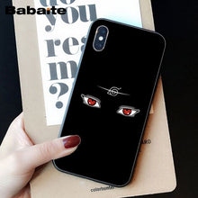 Load image into Gallery viewer, Babaite Hokage Naruto Kakashi Japan anime Soft Silicone TPU Phone Cover for iPhone 6S 6plus 7 7plus 8 8Plus X Xs MAX 5 5S XR