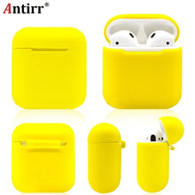 Load image into Gallery viewer, Silicone Shock Proof Protector Sleeve For Apple AirPods Case Skin Cover for AirPods True Wireless Earphone box accessories