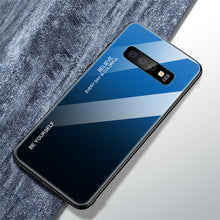 Load image into Gallery viewer, Color Case For Samsung Galaxy S10 S10e A9 A7 A8 A6 Plus 2018 A7 A5 2017 J8 J4 J6 Plus S9 S8 Plus Note 8 9 S Tempered Glass Cover