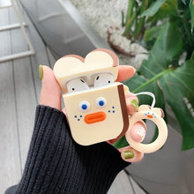 Load image into Gallery viewer, Cute Cartoon Earphone Case for Airpods 2 Cover Soft Silicone Slim Earphone Cover for Airpods 1 Case Bag Protective Strap Cases