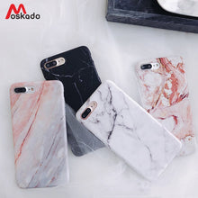 Load image into Gallery viewer, Moskado Phone Case For iPhone 6 6s 7 8 Plus Luxury Glossy Granite Stone Marble Texture Cover For iPhone 11 Pro X XS Max XR Shell