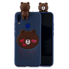 Load image into Gallery viewer, Funda Xiaomi Redmi Note 7 Pro Case 3D Kawaii Silicone Cover on for Etui Xiaomi Redmi Note 5 6 7 Pro Xiomi mi a2 lite Phone Case