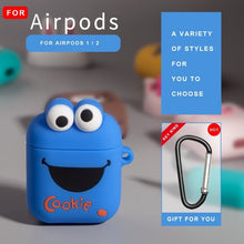 Load image into Gallery viewer, For Airpods 2 Case Silicone Stitch Cartoon Cover for Apple Air pods Cute Earphone Case 3D Headphone case for Earpods Accessories