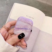 Load image into Gallery viewer, Marble Earphone Case For Airpods 2 Case Luxury Hard Headphone Case For Earpods Cover Accessories for Apple Air pods Charging Box