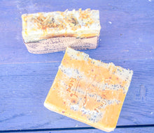 Load image into Gallery viewer, Artisan Goat's Milk Soap- Lemon Smoothy - 3 Pack - shopsatang.com