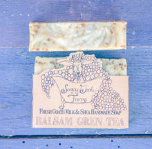 Load image into Gallery viewer, Artisan Goat's Milk Soap- Balsam Green Tea - 3 Pack - shopsatang.com