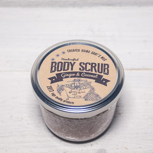 Goat's Milk Body Scrub-Ginger Coconut - shopsatang.com