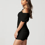 Loveday Collection Meet Me At Midnight Dress Mini Black