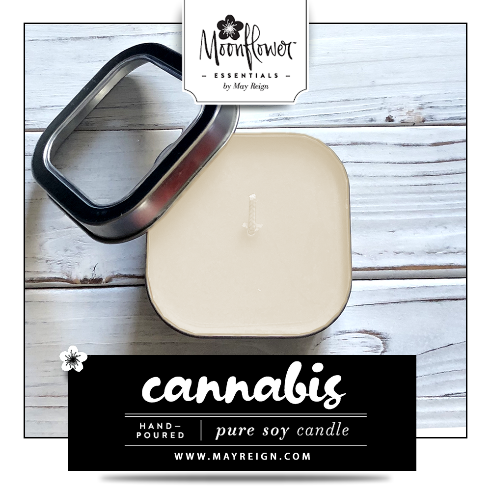 Cannabis : Soy Candle