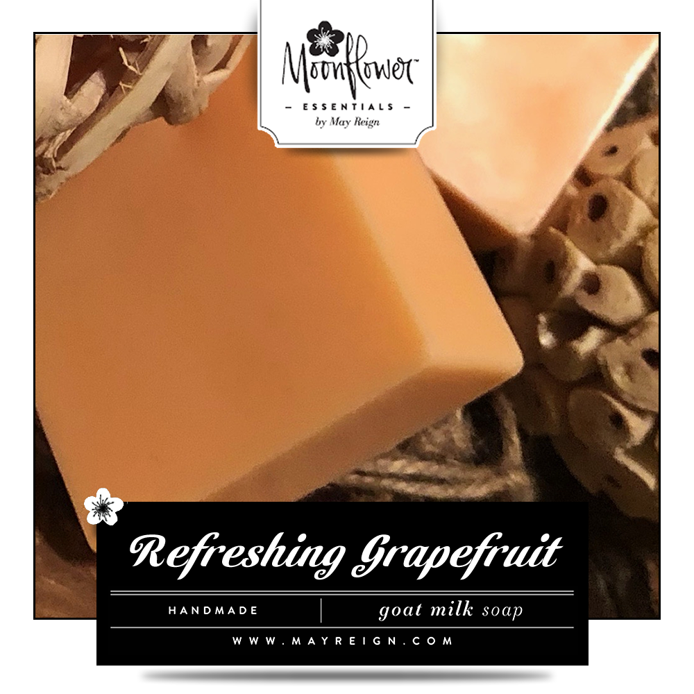 Refreshing Grapefruit : Goat Milk Soap Bar