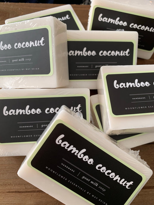 Bamboo Coconut Goat Milk Soap