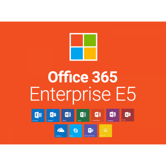 Microsoft Office 365 Enterprise E5 - Katpro Software Product Marketplace