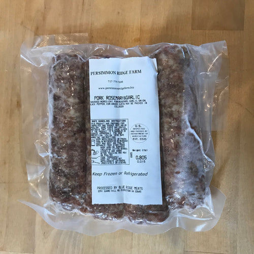 Rosemary Garlic Sausage (Large Link)
