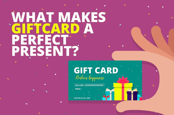 Top 5 reasons why gift cards are the perfect present