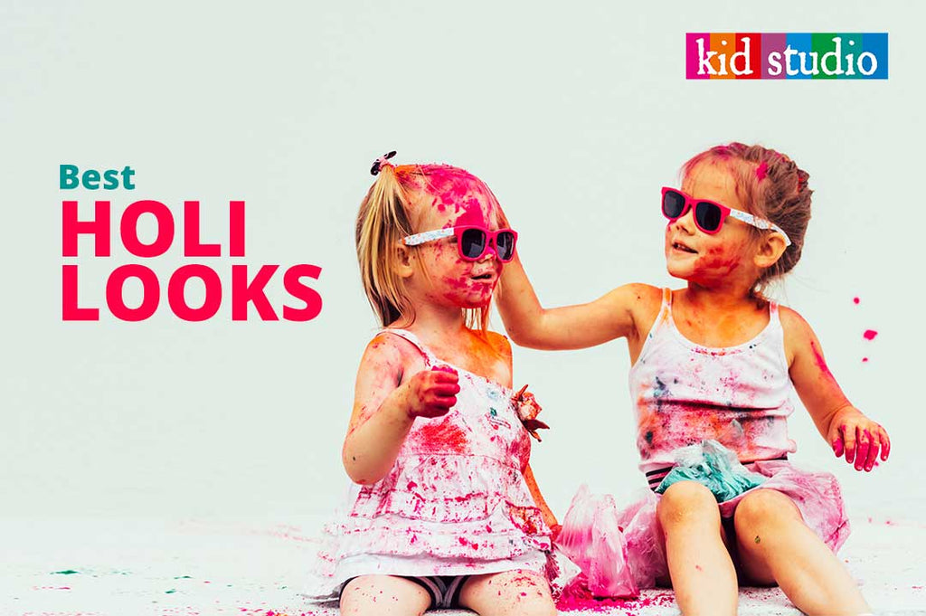 Best Holi Looks – What kids should wear on Holi