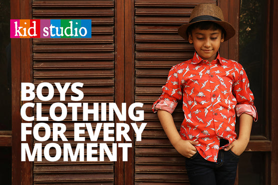 Boys clothing for every occasion