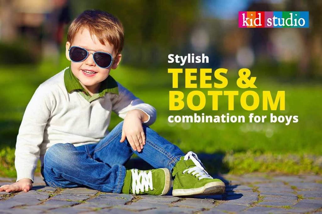 A guide for a perfect t-shirt and jeans combination for your baby boy